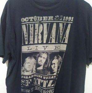 Other - Nirvana Live 1991 tour tee (Kurt Cobain)